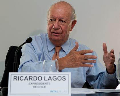 Ricardo Lagos en el INTAL: integrarse es la clave del desarrollo