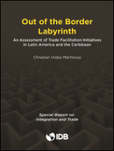 Volpe Martincus, Christian. 2016. Out of the border labyrinth : an assessment of trade facilitation initiatives in Latin America and the Caribbean. Washington: BID.