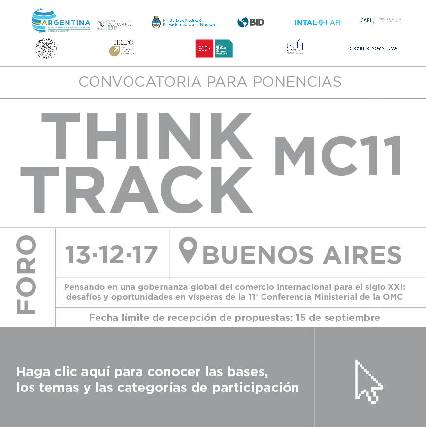 THINK TRACK MC11 – Convocatoria para ponencias y propuestas de panel