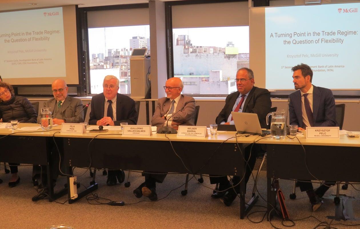 La OMC y su contribución a la gobernanza del sistema del comercio internacional