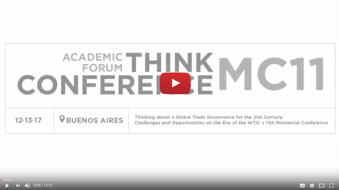 Foro académico Think Conference MC11
