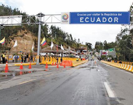 Colombia y Ecuador tendrán una frontera más ágil y eficiente