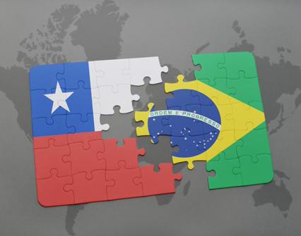 Chile y Brasil logran avances en acuerdo de libre comercio