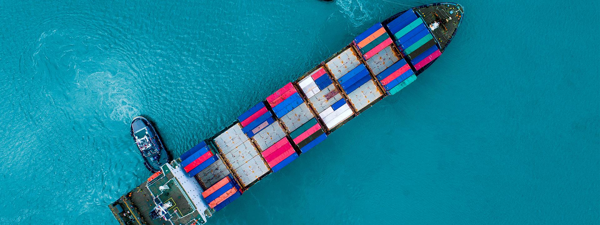 Se desacelera la caída del comercio mundial